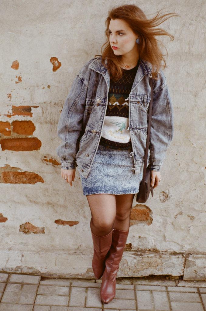 Анна в стиле 80-х