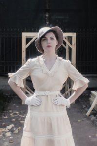 Анна в ретро-образе